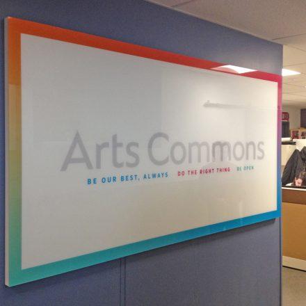 Branded Whiteboard