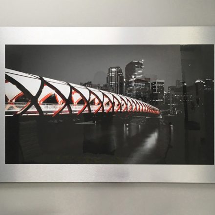Photo Printing on Aluminum Composite Mount