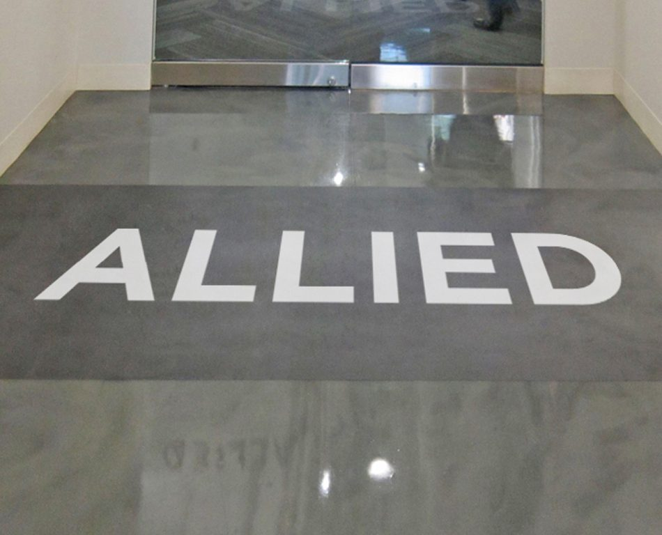 Printed Floor Graphics