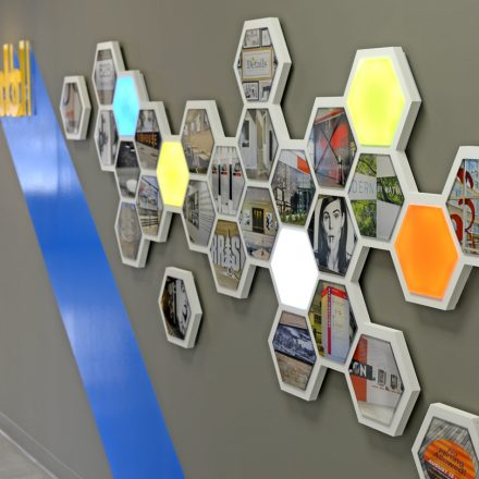 3D Wall Display