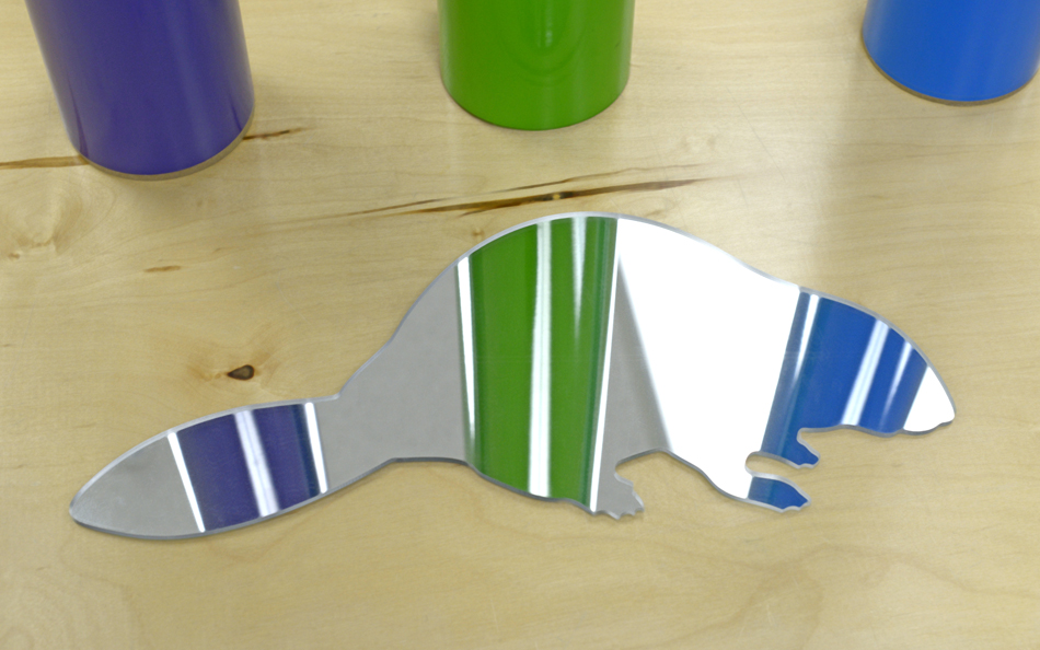Custom Shaped Mirror